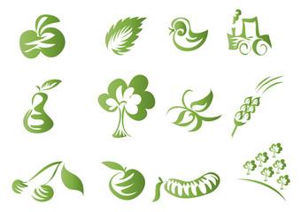 ikonki kliparty przyroda rolnictwo