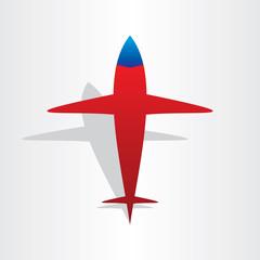 plane airplane flying symbol