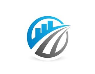 finance success logo,globe marketing symbol, sphere bank icon