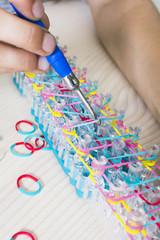 playing loom