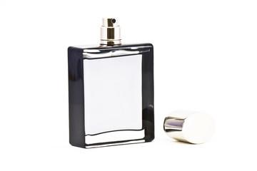 Perfume on white background