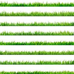 8 item set, small Grass. EPS 10