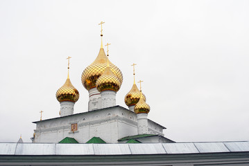 Old orthodox church in Uglich, Russia.