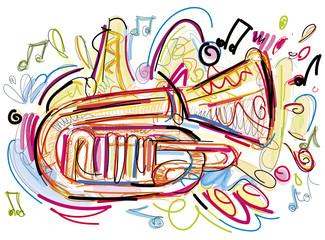 Crazy Horn