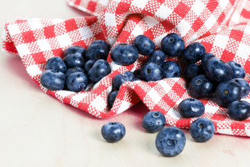 Sweet details of blueberry