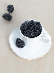 Sweet details of blackberry