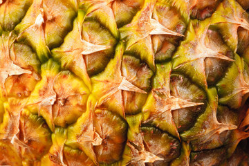 Detail pineapple close-up
