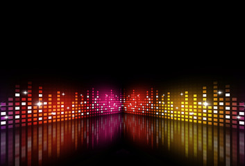 Music Multicolor Party Equalizer