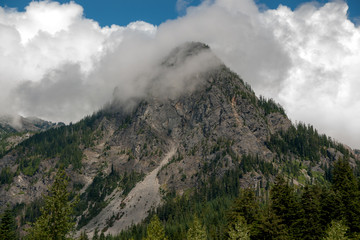 Mounntain in the Snoqualmie Range