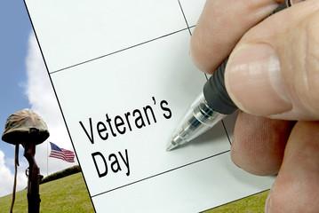 Veteran's Day, Calendar Notation