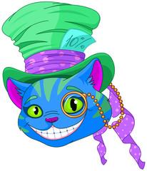 Cheshire Cat in Top Hat