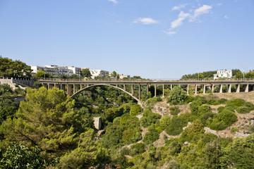 Ponte sulla Gravina, Laterza, Taranto,  Italy