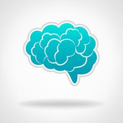 Brains, Silhouette Illustration