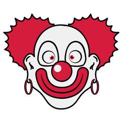 Clown lustig Ohringe