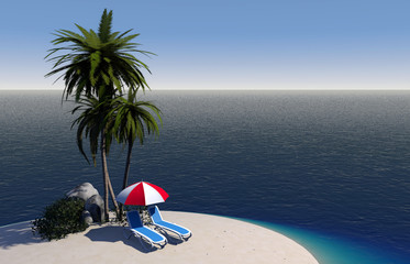L'île des vacances