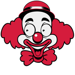 Clown lachen lustig witzig süss Hut