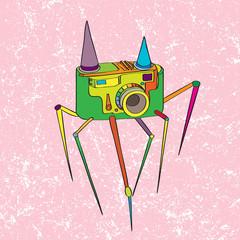 strange camera