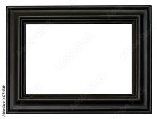 eleganter schicker schwarzer bilderrahmen im querformat stockfotos und lizenzfreie bilder. Black Bedroom Furniture Sets. Home Design Ideas