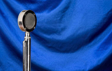 Old Microphone with room for your type.
