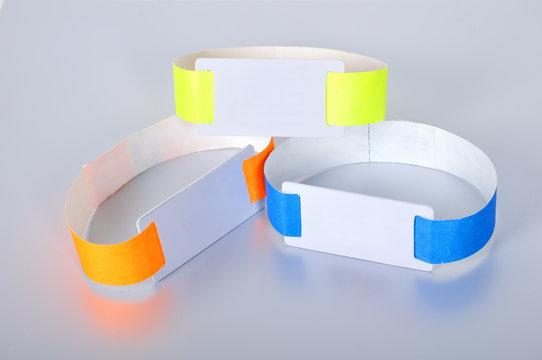 three rfid id bracelet