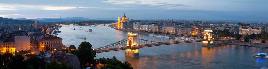 Canvas Prints Budapest Panorama of Budapest