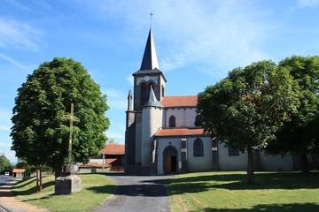 église auvergnate