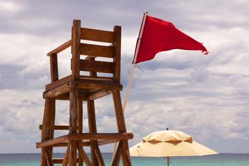 Tropical Lifeguard Post