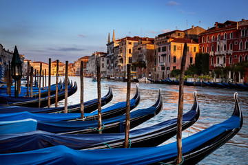 Wall Mural - Gondolas Venice Italy