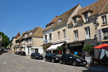 France, the picturesque city of Monfort l Amaury