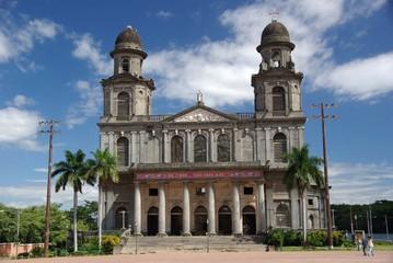 Cathedrale à Leon, Nicaragua