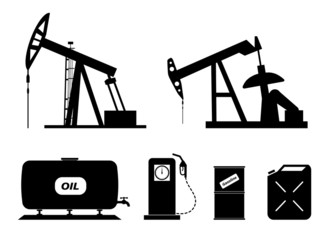 set of elements of the oil-extracting industry