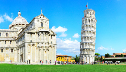 Leaning Pisa Tower