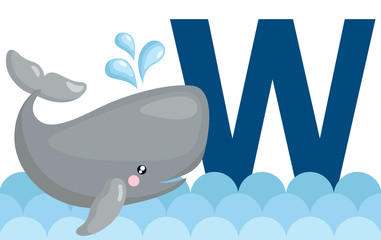 W for Whale