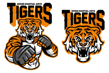 MMA fighter tiger