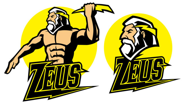 zeus god mascot