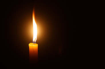 Candle light as light for life