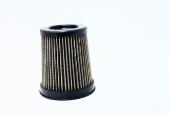 filtre d'aspirateur usagé, sale