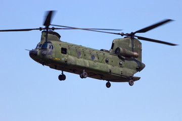Chinook transport helicopter