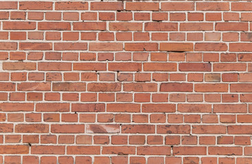 Spoed Foto op Canvas Baksteen muur wall of burnt brick