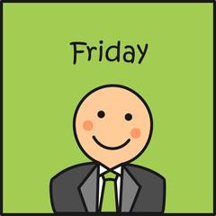 Friday en la oficina