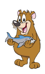 Bear With A Fish