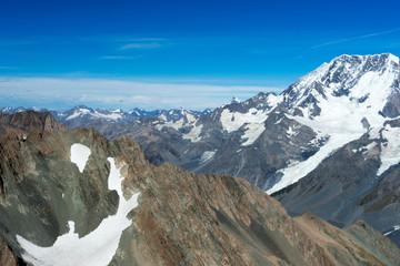 Snowy mountains