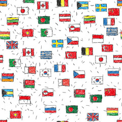 Фон флаги