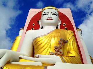 Shwethalyaung Buddha Image in Bago, Myanmar