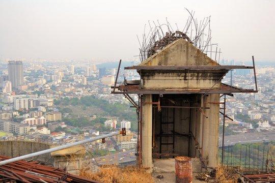 Unfinished abandoned skyscraper Sathorn Unique