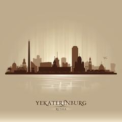 Yekaterinburg Russia skyline city silhouette