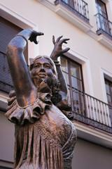 Flamenco Monumento a Pastora Imperio Séville