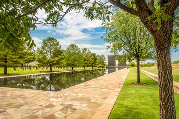 Pool of the Oklahoma National Memorial