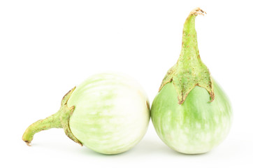 Fresh aubergine