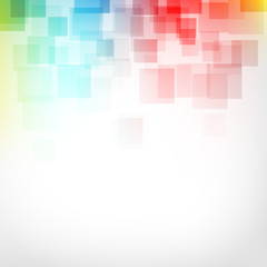 Fototapeta kwadraty abstrakcyjne tło wektor
